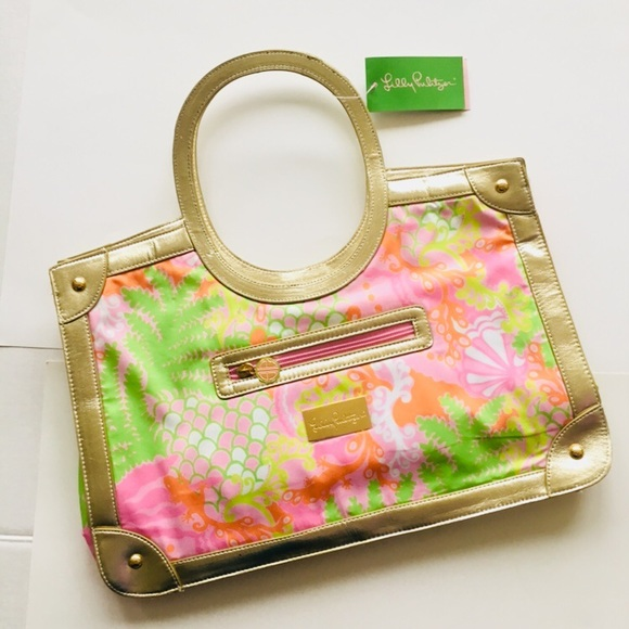 Lilly Pulitzer Handbags - New! Lilly Pulitzer Resort Tote, Style 90310